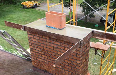 Chimney Rebuilds & Repairs