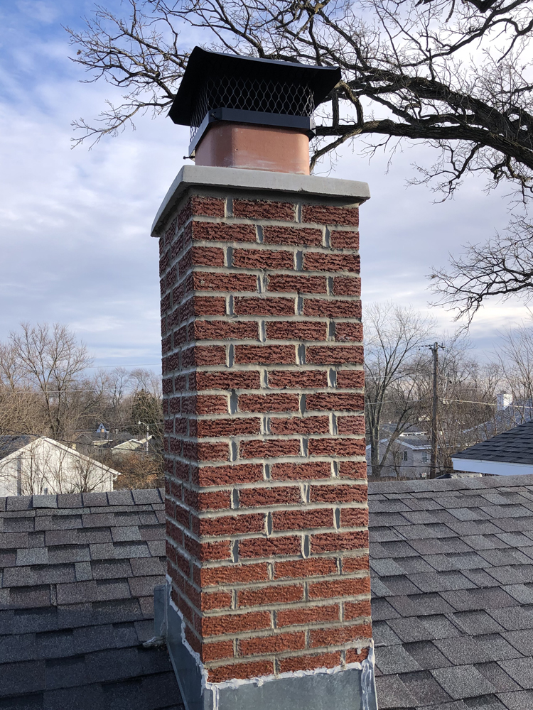 Chimney repair and seal